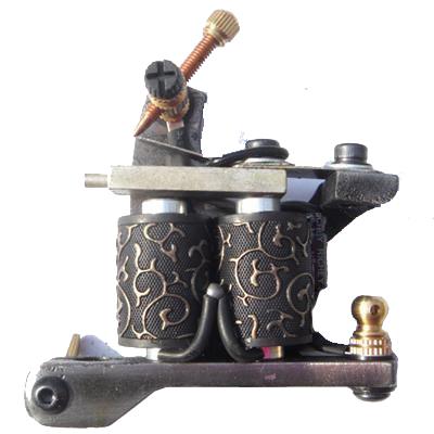 HANDMADE Damascus Steel Tattoo Machine Gun Supply SALE   Fast Shipping