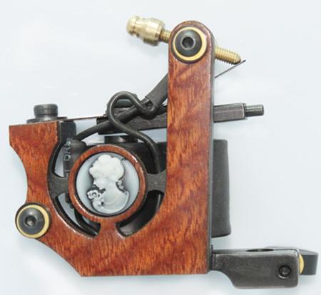 Professional tattoo machine gun 10 wrap coils shader liner for Shader tattoo machine