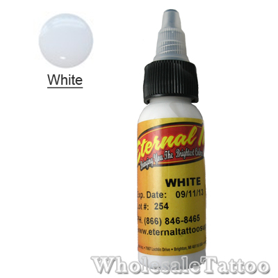 Eternal Tattoo Ink white