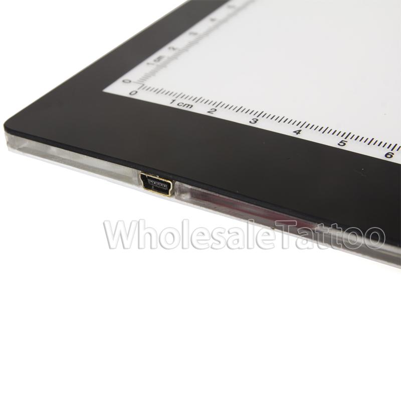 16 5 ultra thin led tattoo tracing pad a4 light box. Black Bedroom Furniture Sets. Home Design Ideas