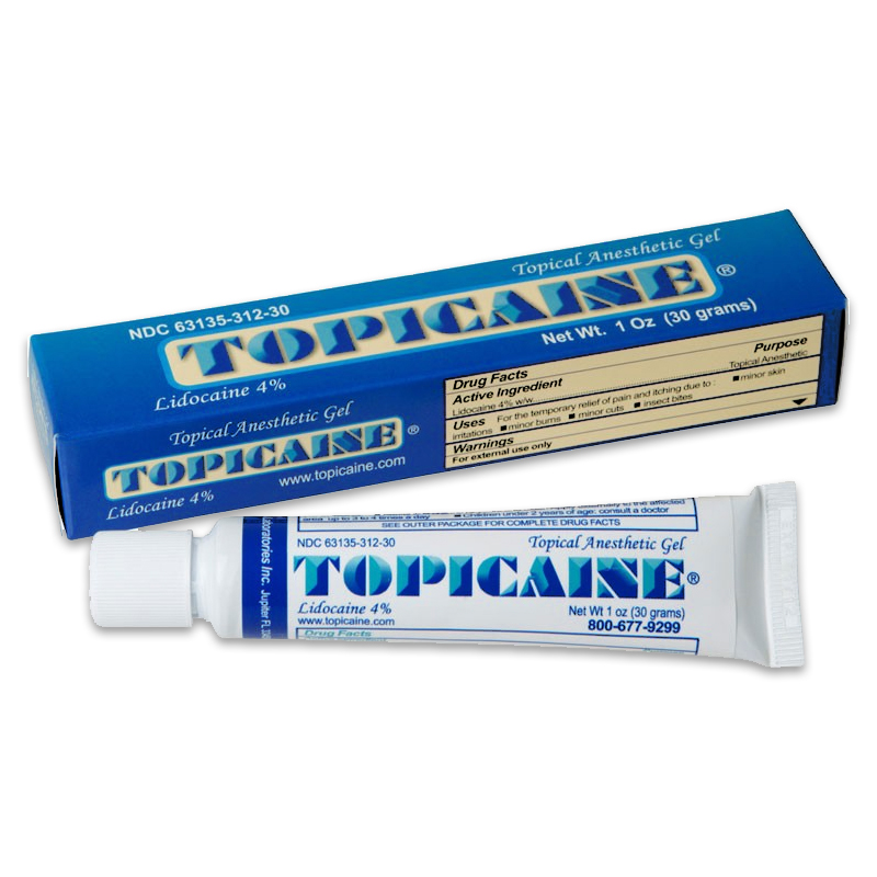 Topical anesthetic gel 4 lidocaine gel 10 g topical for Numbing cream for tattoos over the counter