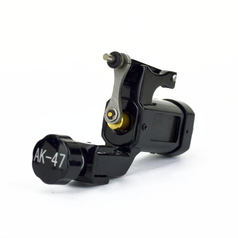 AK-47 BLACK Rotary Tattoo Machine Lightweight Alloy Frame Liner or ...