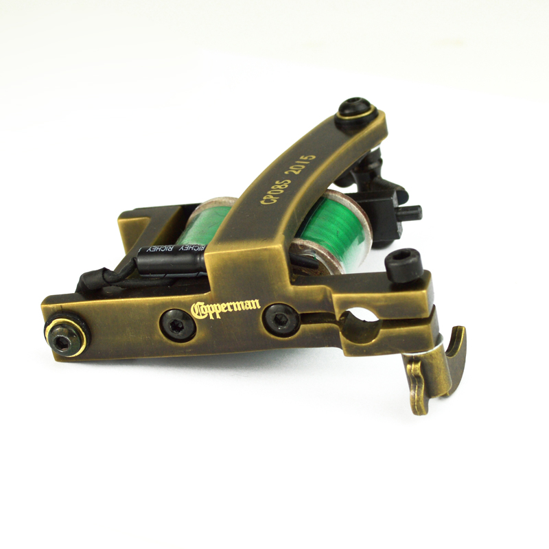 Copperman Tattoo Machine Saber With Cnc Frame Shader