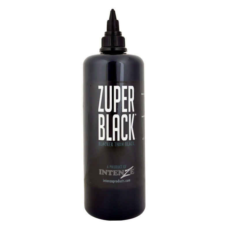 Intenze zuper black tattoo ink intenze tattoo ink for Cheap tattoo ink