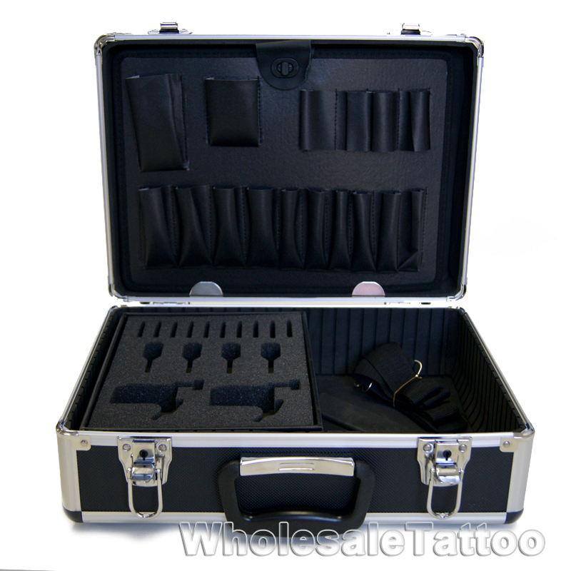 4 Foot Led Lights >> Large Tattoo Case - Tattoo Kit Box - Tattoo Tour Convention Carrying Case