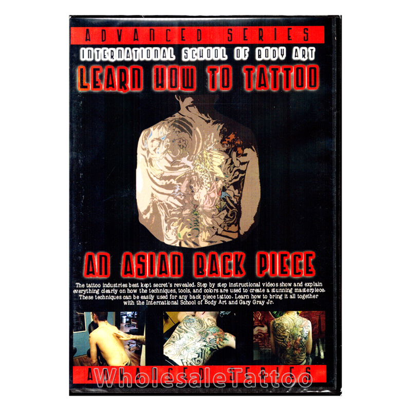 Learn how to tattoo an asian back piece dvd for How to tattoo dvd