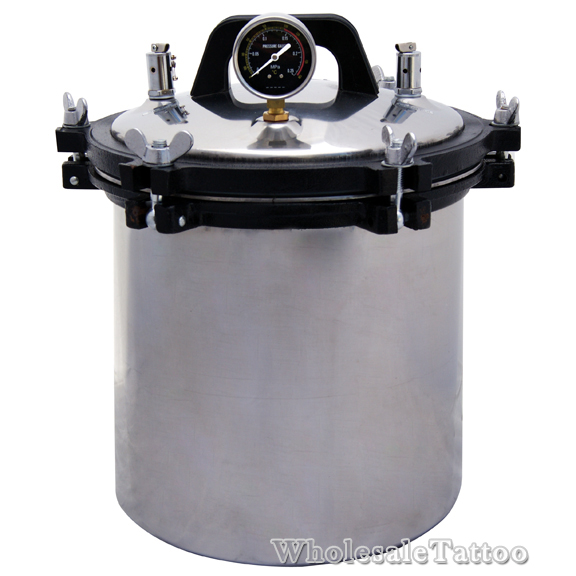 tattoo autoclave steam sterilizer 4 7 gallon 18 liter
