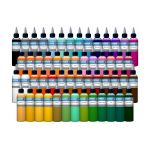 54 Color Intenze Tattoo Ink Set 1oz