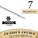 Tattoo Needles - 7 Round Liner 50 Pack