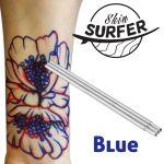 Blue Skin Surfer Tattoo Pen (Brass Pen) Refill