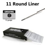 Tattoo Needles - 11 Round Liner 50 Pack
