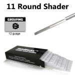 Tattoo Needles - 11 Round Shader 50 Pack