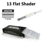 Tattoo Needles - 13 Flat Shader 50 Pack