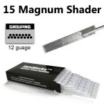 Tattoo Needles - 15 Magnum Shader 50 Pack