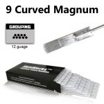 Tattoo Needles - 9 Curved Magnum Needles 50 Pack