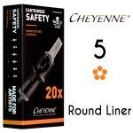 Cheyenne 5 Round Liner Cartridge