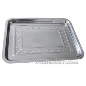 """14"""" x 10.2"""" Stainless Steel Tray"""