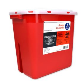 Bemis Sharps Container, Red, 2 Gallon