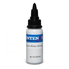 1 oz Intenze Tattoo Ink  snow white mixing
