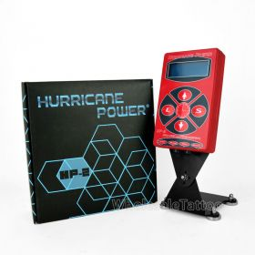 RED HURRICANE® DIGITAL TATTOO MACHINE POWER