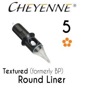 Cheyenne 5 Textured Round Liner Cartridge
