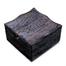 TOP quality BLACK wooden machine box