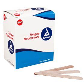Non-sterile Tongue Depressors, BOX of 500