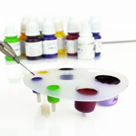 Disposable Tattoo ink cup set/palet