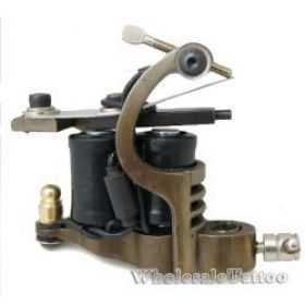 Steel 10 wrap Tattoo Machine