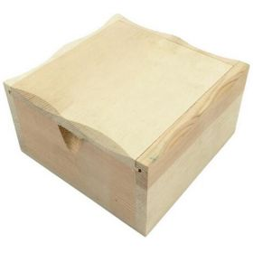 wooden machine box with cotton flannel