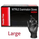 Nitril Tattoo Glove, Powder-Free, Latex Free - Large