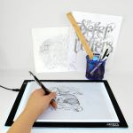 "Artist's Choice™ 12"" x 8.5"" Ultra Thin LED Tattoo Tracing Pad - A4 Light Box"