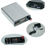 Rechargeable tattoo power supply Digital Display with wireless pedal