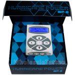 Hurricane HP-2 Silver Dual Digital LCD Tattoo Power Supply - 2013 New Version
