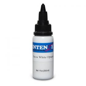 4 oz Intenze Tattoo Ink  snow white opaque